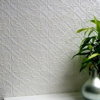 Brewster 437-RD0671 Maxwell Paintable Textured Vinyl Wallpaper - N/A
