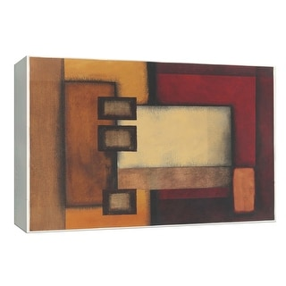 "PTM Images 9-154069  PTM Canvas Collection 8"" x 10"" - ""Geometric Abstract I"" Giclee Patterns and Designs Art Print on Canvas"