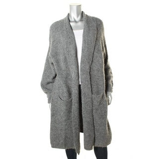 Pure DKNY Womens Open Front Long Sleeves Cardigan Sweater - m/l
