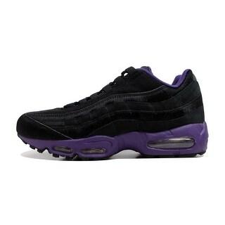 Nike Men's Air Max '95 Black/Black-Club Purple Attack Pack 609048-025