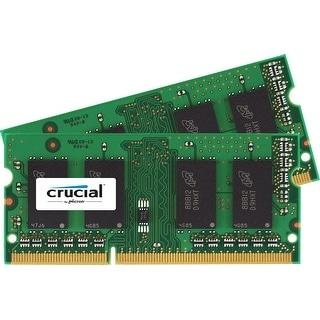 Crucial Ct2k8g3s160bm 16Gb Kit (2 X 8Gb) Ddr3l-1600 1600 Mt/S Sodimm Memory