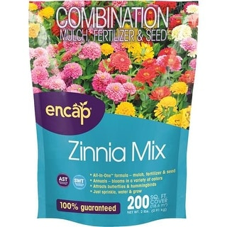 Encap LLC 2 Lb Zinnia Flower Mix 10806-6 Unit: EACH