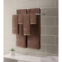 Downtown Collection Ribbed Luxury 6-Piece Towel Set, Mocha