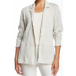 Eileen Fisher NEW White Ivory Womens Size Large L Cardigan Sweater