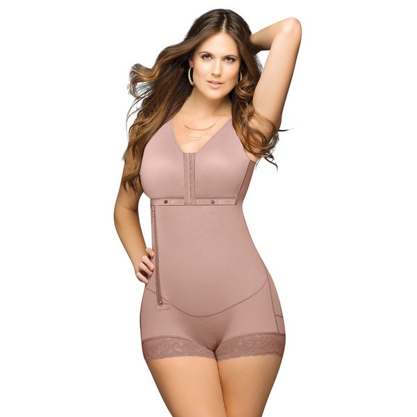 1a5e163ce Shop Plus Size Mocha Body Hugger Shapewear - Free Shipping Today - Overstock  - 27742182