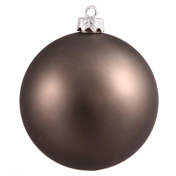 """4.75"""" Pewter Matte Ball UV Shatterproof"""