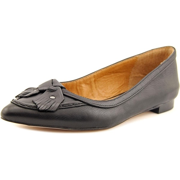 Corso Como Musical Women Pointed Toe Leather Black Flats