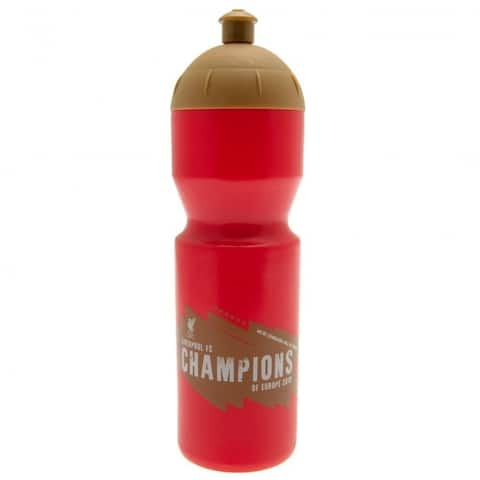 Liverpool Fc Champions Of Europe Drinks Bottle - Red - One Size