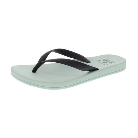 9818c0ae2ce8 Reef Womens Escape Lux Flip-Flops Thong Arch Support