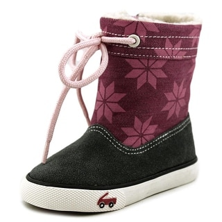 See Kai Run Greta Round Toe Synthetic Snow Boot