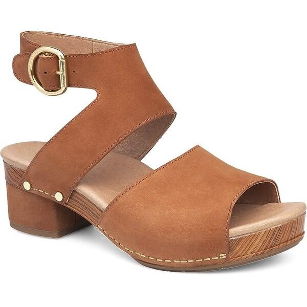 Shop Dansko Womens Minka Leather Open
