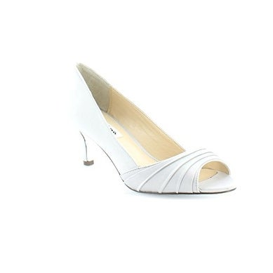 Nina Womens Carolyn Peep Toe Classic Pumps