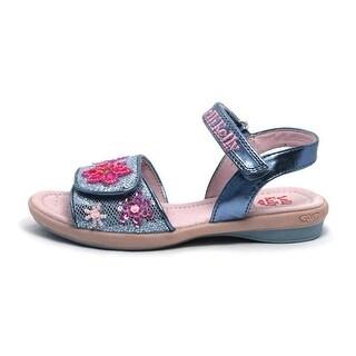 Lelli Kelly Kids' Glitter Jewel Sandal T/P - Silver Glitter