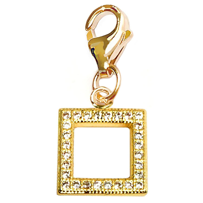 Julieta Jewelry Square Clip-On Charm - Thumbnail 0