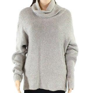 Lauren By Ralph Lauren Gray Women's Size Medium M Knitted Sweater