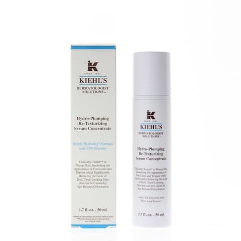 Kiehls Hydro-Plumping Re-Texturizing Serum Concentrate 1.7oz/50ml