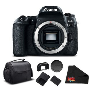 Canon EOS 77D DSLR Bundle (Intl Model)