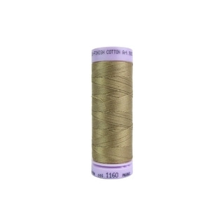 9105 1160 Mettler Silk Finish Cotton 50 164yd Pimento