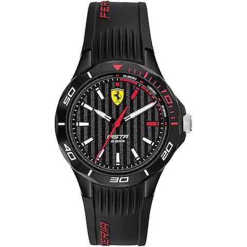 Ferrari Men's Pista Black Dial Watch - 840038 - One Size