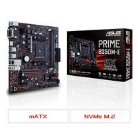 Asus - Motherboards - Prime B350m-E