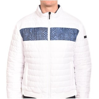 Roberto Men Cavalli Puffer Jacket White