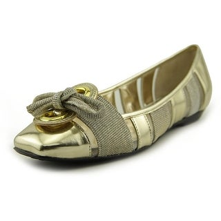 J. Renee Edie Square Toe Canvas Flats