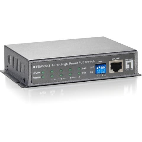 Cp technologies fsw-0513 4- port 10/100 high power poe