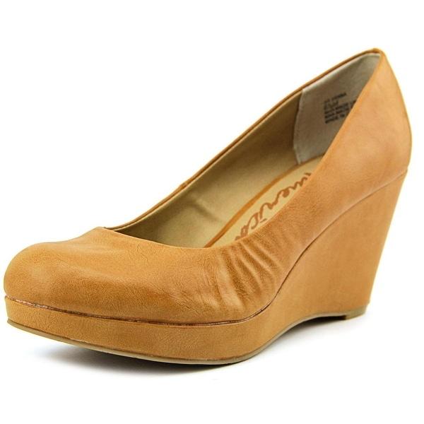 American Rag Kenna Open Toe Synthetic Wedge Heel