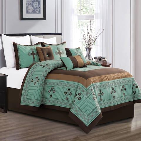 WESTERN CROSS 7 Piece Comforter