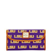 Dooney & Bourke NCAA LSU Continental Clutch Wallet (Introduced by Dooney & Bourke at $128 in Jan 2015)