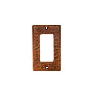 Premier Copper Products SR1 Copper Single Ground Fault/Rocker GFI Switchplate Co
