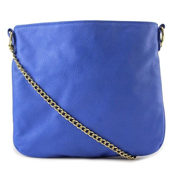 T-Shirt & Jeans Kelli Crossbody Women Leather Blue Messenger