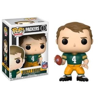 "FunKo POP! Football Green Bay Packers Brett Favre 3.75"" Vinyl Figure"
