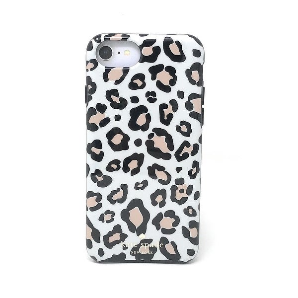 premium selection a2ae4 2ce45 Shop kate spade New York Leopard Print Protective Rubber Case For ...