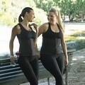 Women's Latex Rubber Waist Cincher Trimmer Belt Corset Underbust Body Shapewear - Thumbnail 9