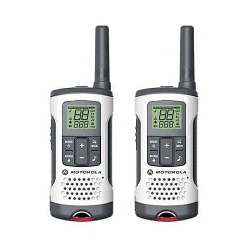 """Motorola Emergency Preparedness Edition T280 2Way Radios (2-Pack) T280 Emergency Preparedness Edition 2-Way Radios"""