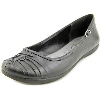 Baretraps Rinn Women  Round Toe Leather Black Flats