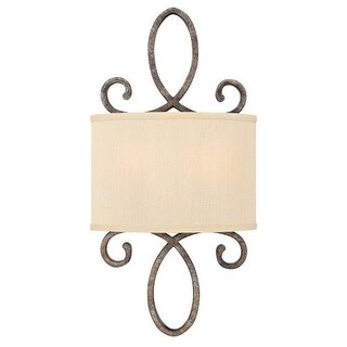 Fredrick Ramond FR42500 2 Light Wall Sconce from the Monterey collection
