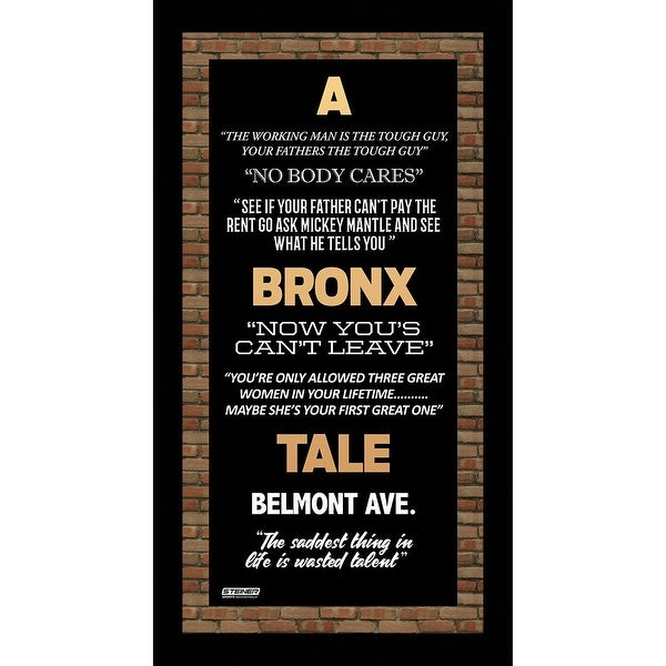 bronx tale quotes.html