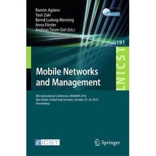 Mobile Networks and Management - Ramon Aguero, Bernd-ludwig Wenning, et al.