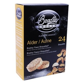Bradley Smoker Btpb24 Pacific Blend Flavoured Bisquettes Pack Of 24