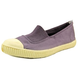 Chipie 949 Women Cap Toe Canvas Purple Flats