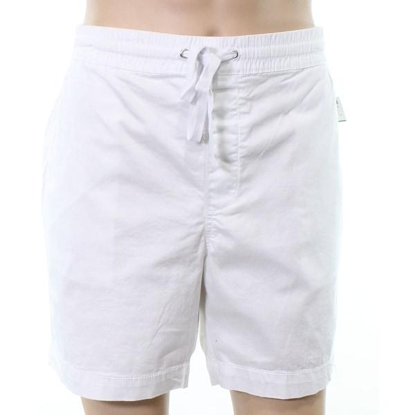 c2a1df3e04 Shop Club Monaco Mens Elastic Waist Drawstring Shorts - Free Shipping On  Orders Over $45 - Overstock - 26985887