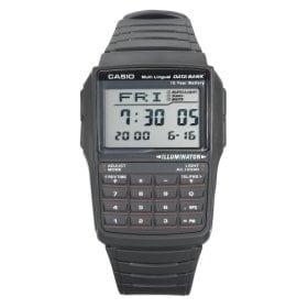 Casio Men's Data Bank Black Digital Watch
