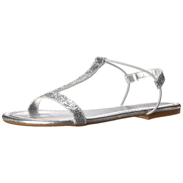 Rampage Womens Patience Open Toe Casual Slingback Sandals