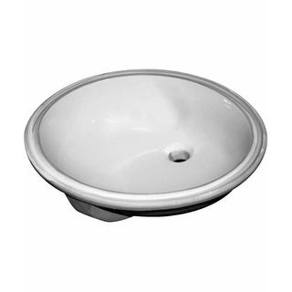 "Sloan SS-3001 19-1/2"" Undermount Bathroom Sink with Overflow"