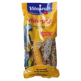 Vitakraft Mini-Pop Corn Treat for Pet Birds 6 oz