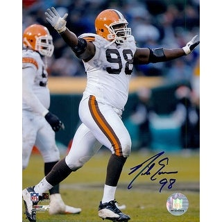 Signed Eason Nick Cleveland Browns 8x10 Photo autographed