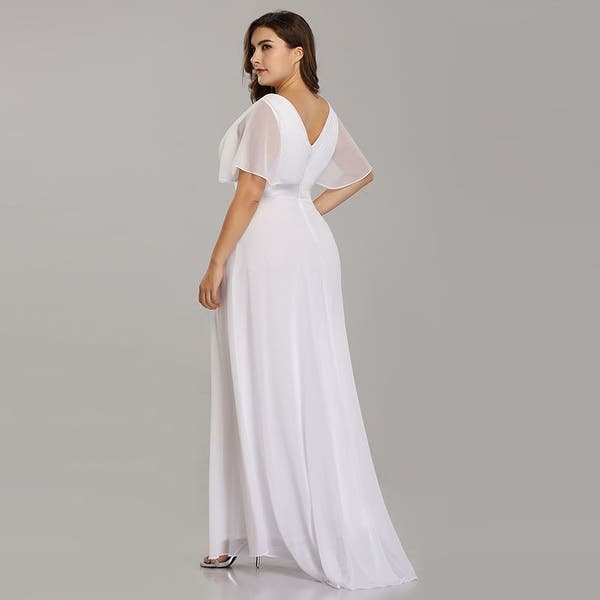 Shop Ever-Pretty Womens Plus Size Chiffon Long Mother of the ...