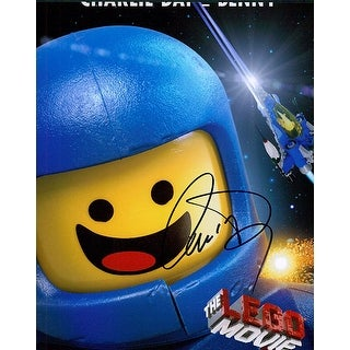 Signed Day Charlie The Lego Movie 8x10 Photo autographed